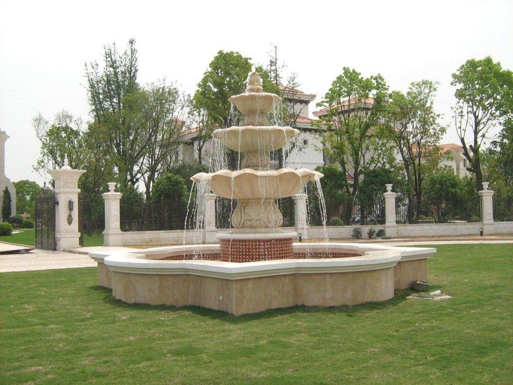 花坛喷泉雕塑景观雕塑水景