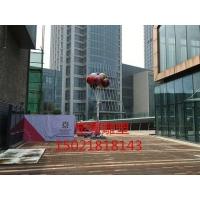 定制玻璃钢五彩气球雕塑 商业街布景雕塑