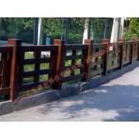四川永圣仿木栏杆 仿石栏杆 铸造石栏杆