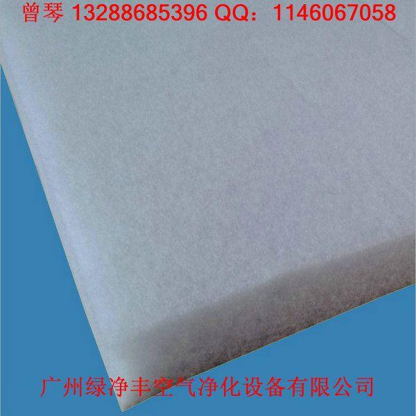 广州家具烤漆房过滤棉喷胶棉