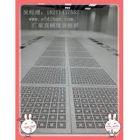 深圳防静电地板 全钢通风板高架活动地板沈飞