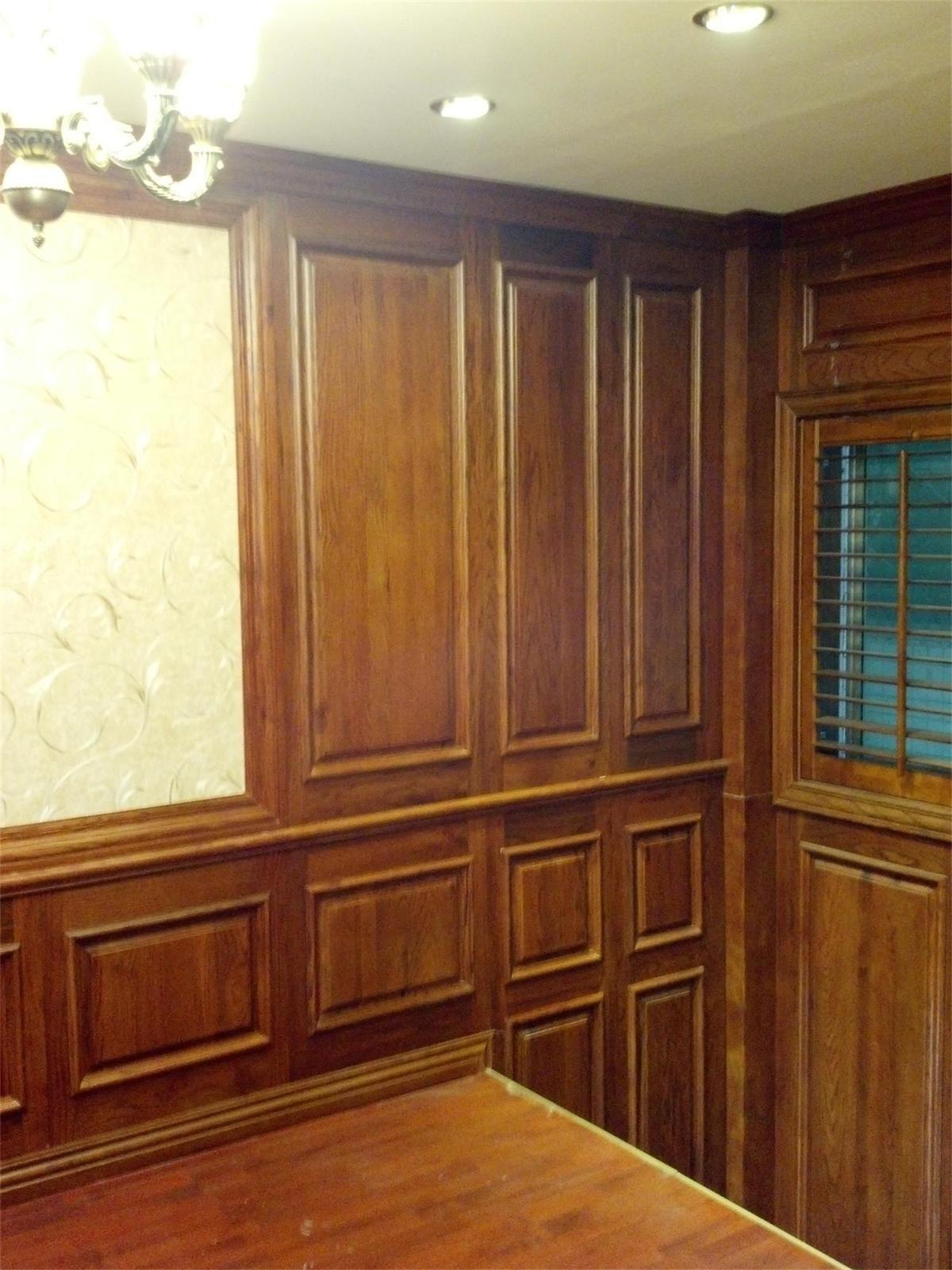 实木护墙板1