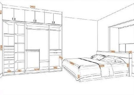 渝派家具类尺寸设计图例图片