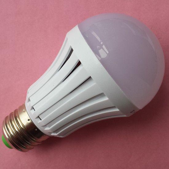 直销led声光控灯泡 过道楼道 延时塑料球泡灯3w 5w