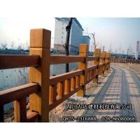 供应四川力达新型水泥仿木栏杆/仿木制品