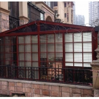 定制高档铝合金门窗 封阳台 断桥窗 窗纱一体窗 顶固门窗