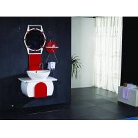 吉美衛浴-實木浴室柜