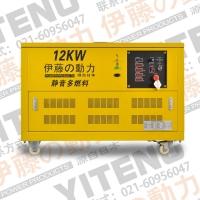 双电源自动切换12KW汽油发电机