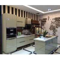 现代极简风格厨柜 超镜板厨柜 九天定制家居