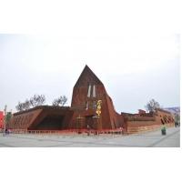 园林场馆用锈红钢板/幕墙用锈红钢板