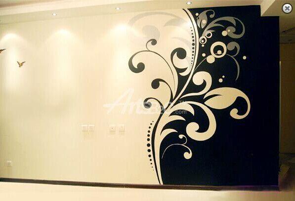 墙画 手绘墙