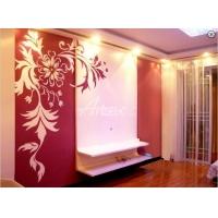 聚宏壁画 墙绘 墙画 手绘墙 清水样板房 3D清水样板房墙绘