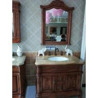 欧尔陶实木浴室柜