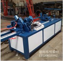自动数控角铁法兰生产线 角铁切断冲孔机 角钢液压冲孔机