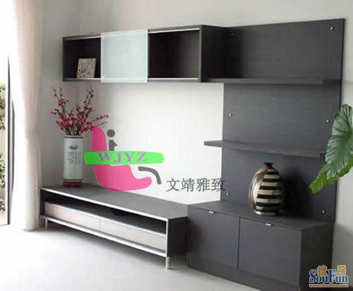 电视柜-南京定制家具-文靖雅致家具