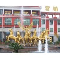 湖北武汉玻璃钢雕塑,商场陈列,广场雕塑