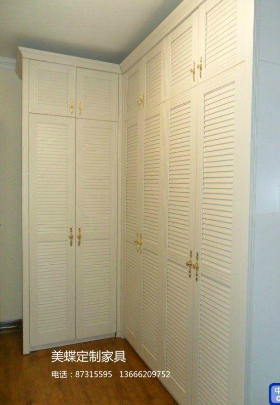 平开门转角衣柜图片