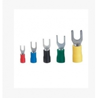 冷压接线端子/叉形预绝缘端子/U形接线头 SV1.25-3,
