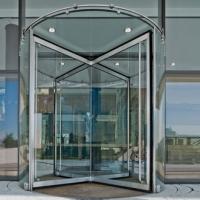 南宁弧形感应门 玻璃门