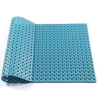 橡胶门垫泳池厕所防滑地垫安全防滑带孔橡胶垫