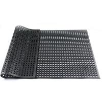 可拼接疏水防滑酒店厨房橡胶安全地垫餐厅食堂防滑垫