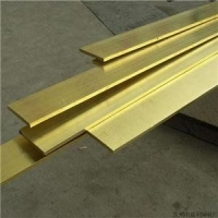 国标H65黄铜排30*30无铅黄铜排镀锡黄铜排密度