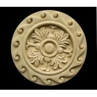 江南雕塑新型花型圆盘砂岩浮雕