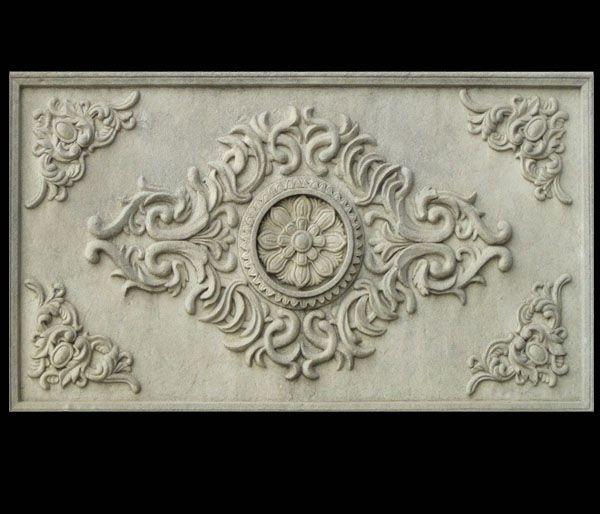 砂岩欧式花板浮雕装饰