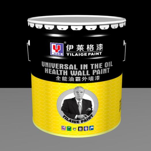 伊莱格油性外墙哑光墙面漆油性外墙漆外墙涂料