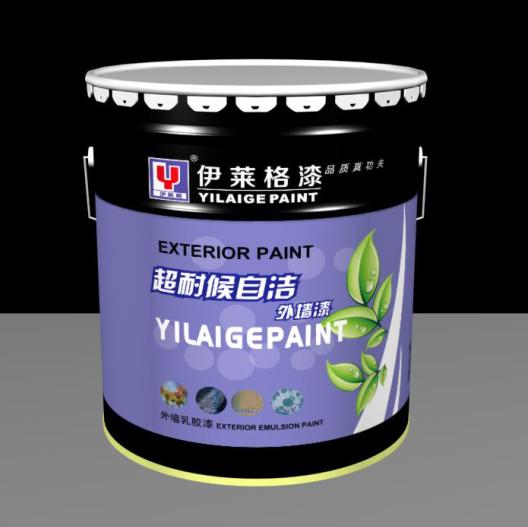 武汉伊莱格超耐候自洁外墙漆外墙涂料乳胶漆