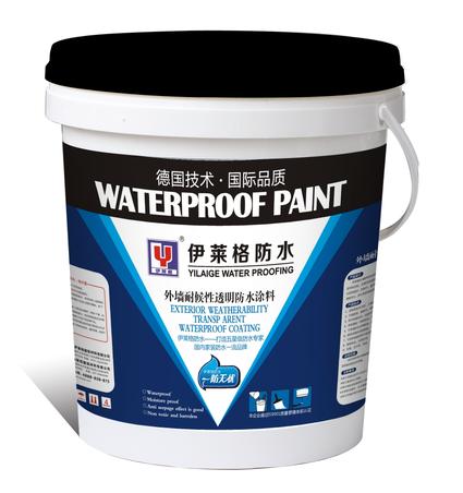 伊莱格外墙耐候性透明防水涂料