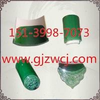 绿色琉璃瓦配件/仿古琉璃瓦价格