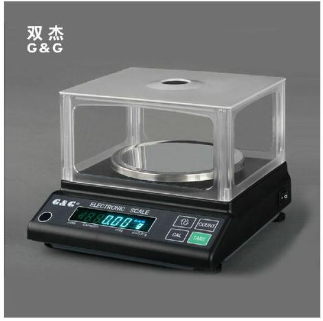 双杰天平电子分析天平 珠宝天平 纺织天平0.01g