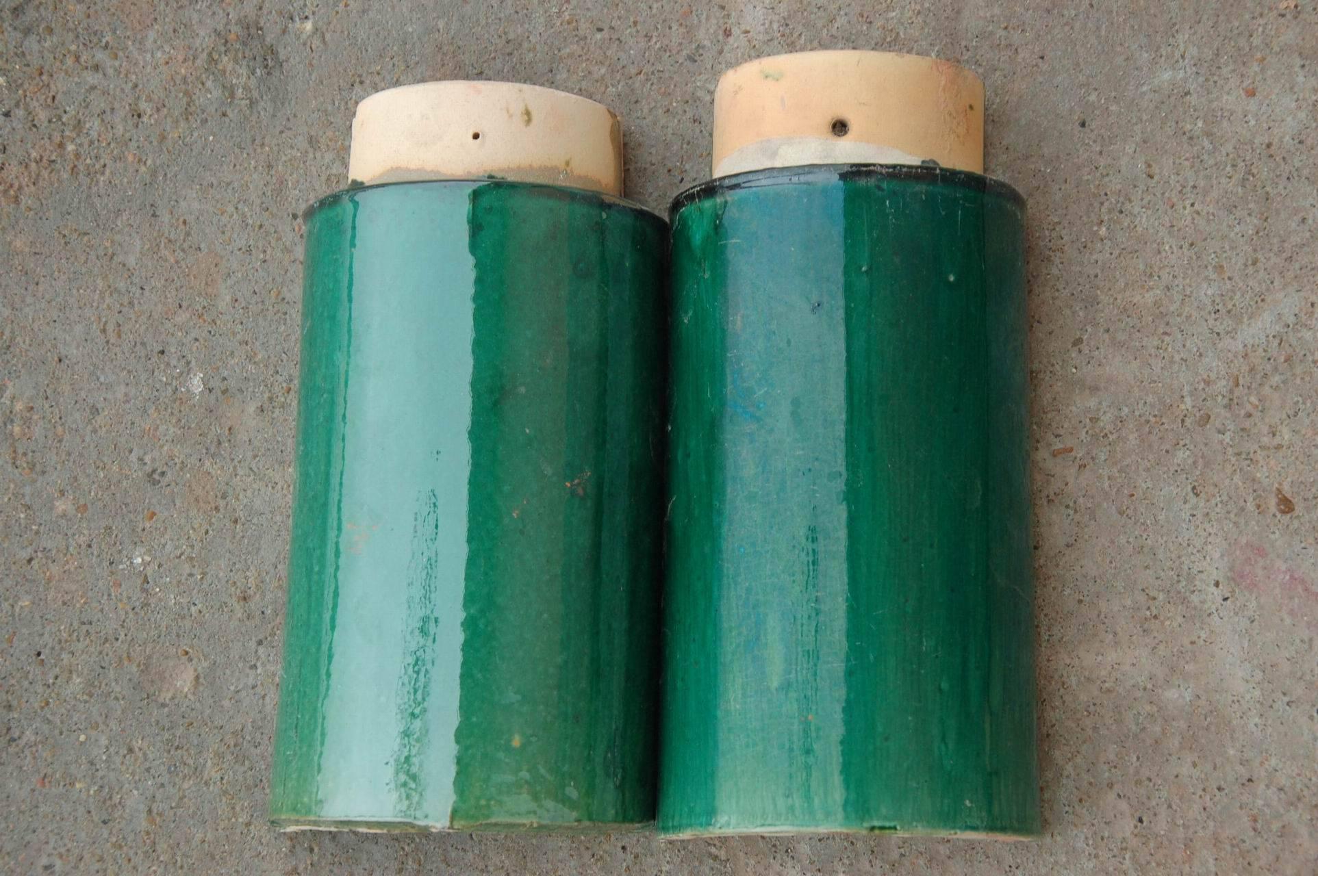 翡翠绿琉璃瓦