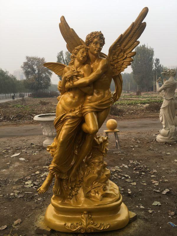 西方人物雕像 玻璃钢欧式美女像 西洋美女雕塑制作厂家