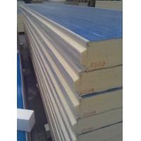 双面彩钢聚氨酯夹芯板冷库板复合板