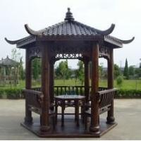 木质花架庭院凉亭设计建造