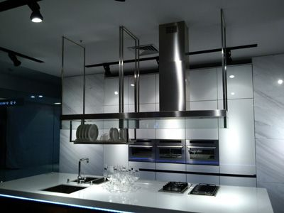 高档吊挂式抽油烟机 中岛式油烟机 开放式厨房专用