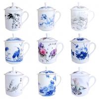 办公室专用陶瓷水杯 陶瓷茶杯 陶瓷杯子