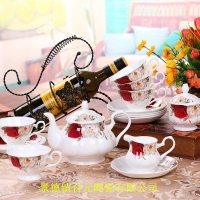 高档商务礼品定做 商务馈赠礼品陶瓷咖啡具