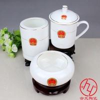 会议礼品陶瓷茶杯定做 景德镇陶瓷茶杯批发