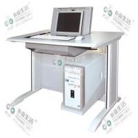 翻转电脑桌 液晶屏翻转桌 摩登腿式翻转桌 应中科技