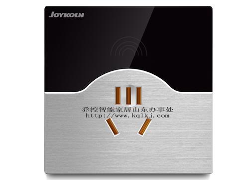 乔控智能家居—智能插座  无线单底盒插座控制器