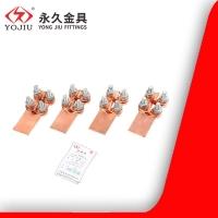 热镀锌铜设备线夹ST-1线夹ST-2国标螺栓型线夹 永久金具
