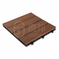 佛山嘉邦立咔DIY家用塑木拼装地板经销