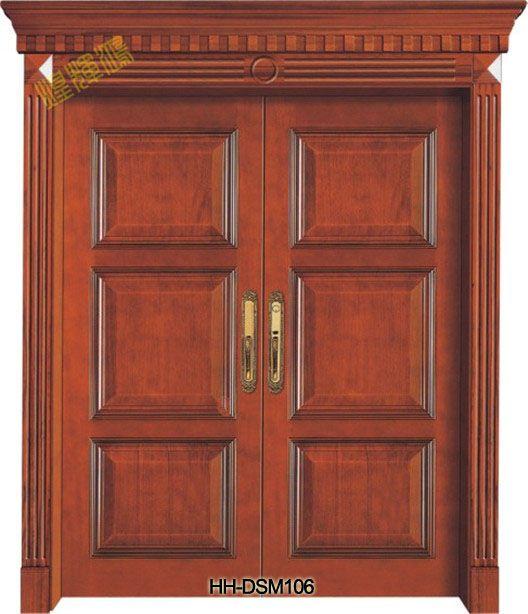 别墅大门用什么门好?入户大门用什么门好?实木大门好不好?