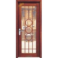 实木玻璃门批发 实木卫生间门批发 高档玻璃木门定制 煌辉鸿