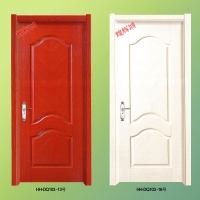 浮雕拼花生态门|免漆实木门|佛山正宗品牌木门|煌辉鸿木门