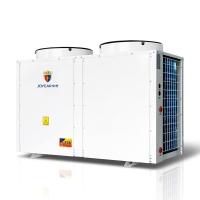 15吨酒店宾馆中央空气能热泵热水机,空气源热水工程