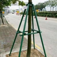 专业生产玻璃钢树木支撑架 玻璃纤维支撑杆 绿化支撑防护架